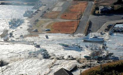 Japan-Tsunami Earthquake-