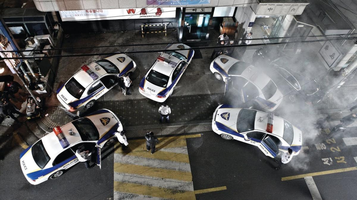 the murderer police