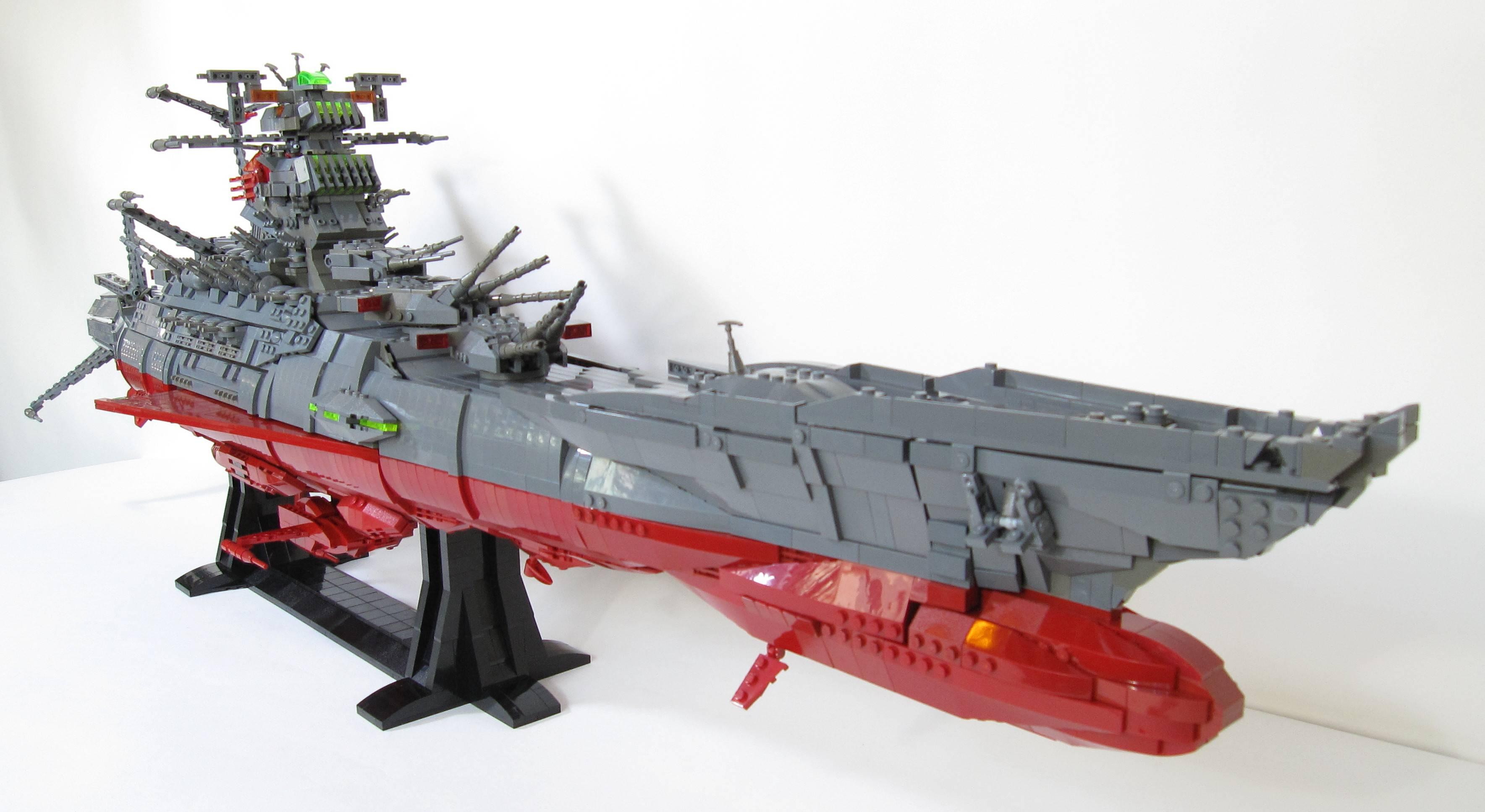 Mais capitaine, ce vaisseau est en LEGO, ON VA TOUS CREVER!!!
