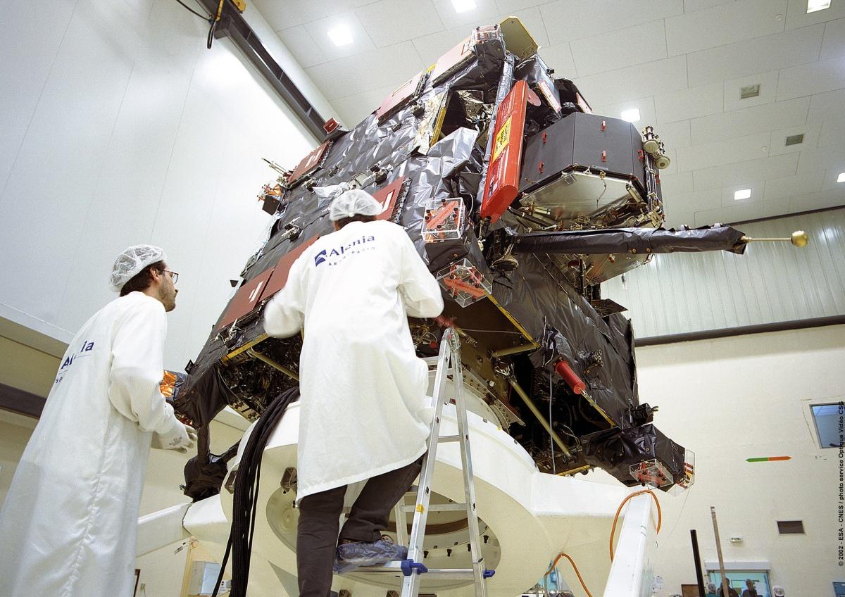copyrigth 2002 ESA CNES