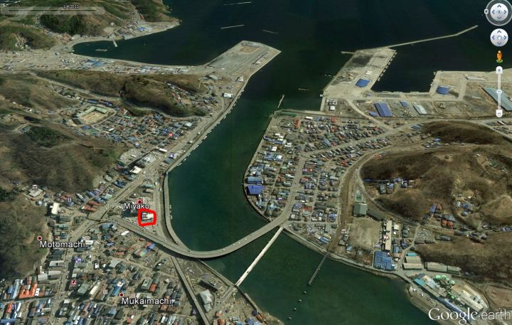 Miyako quelques jours après le tsunami